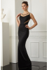Black velvet 13 sleeveless maxi dress