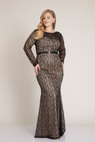 Powder plus size maxi dress
